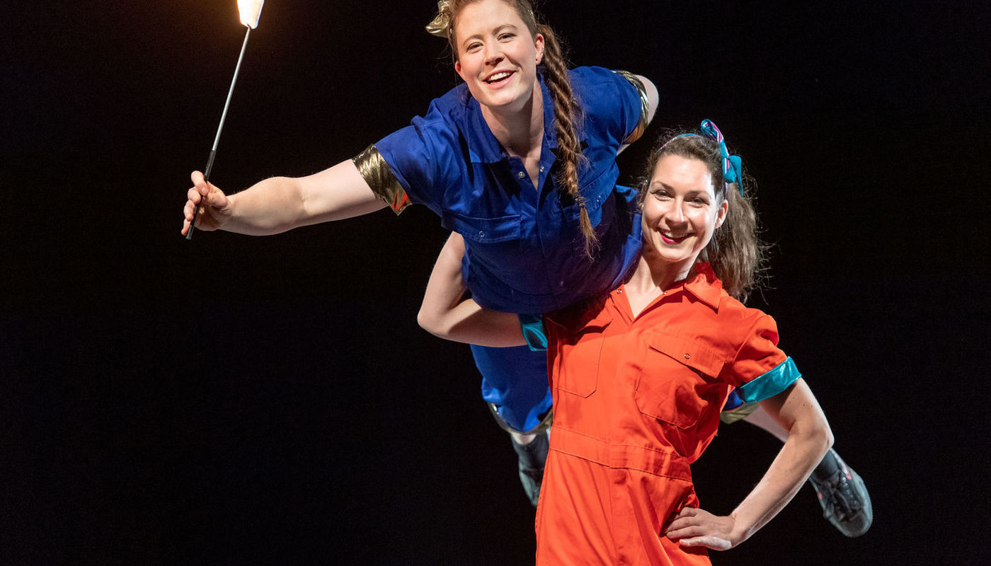 StrongWomen Science streamed film - Circus Events - CircusTalk