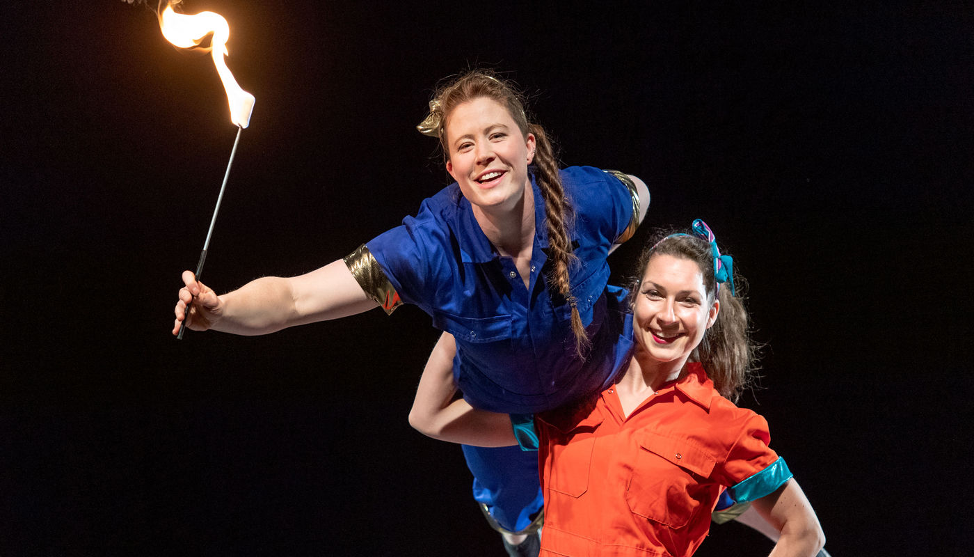StrongWomen Science at Just So Festival - Circus Events - CircusTalk