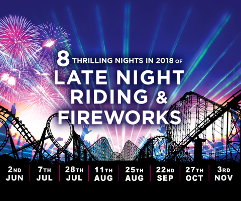 Late Night Riding and Fireworks - Circus Events - CircusTalk