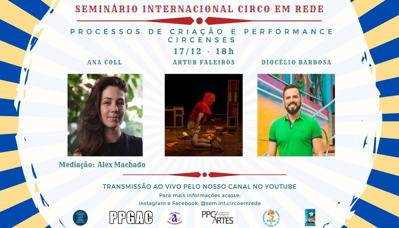 SEMINÁRIO INTERNACIONAL CIRCO EM REDE - Circus Events - CircusTalk