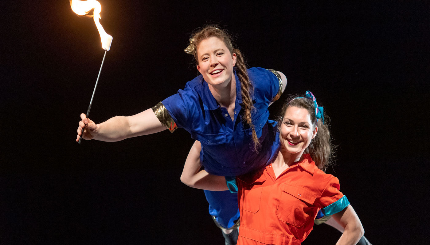 StrongWomen Science at Cambridge Junction - Circus Events - CircusTalk