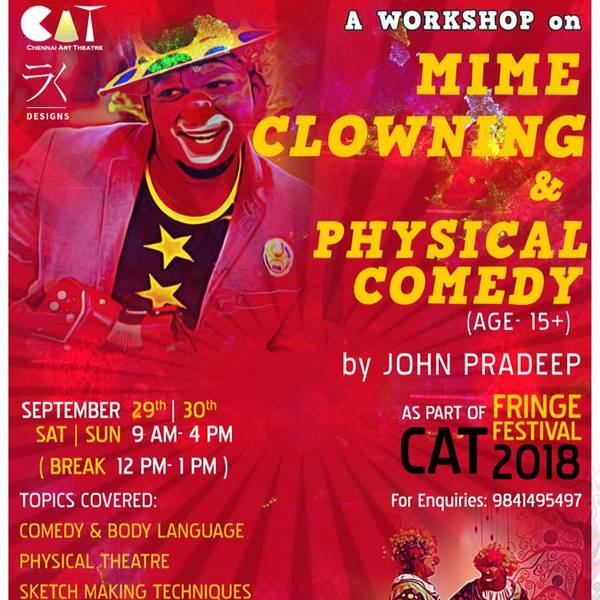 Mime,clowning and physical comedy workshop - Circus Events - CircusTalk