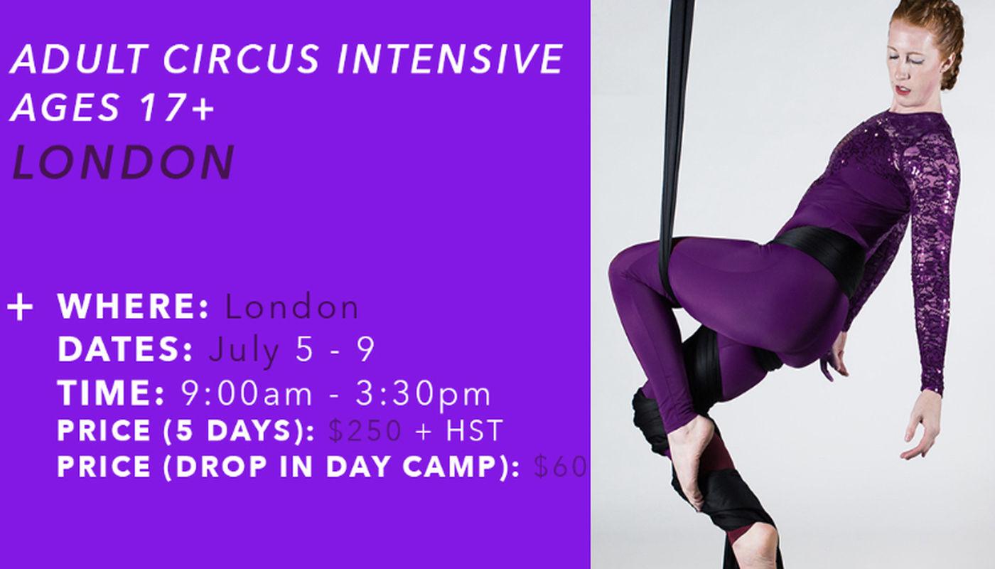Adult Circus Intensive  - Circus Events - CircusTalk