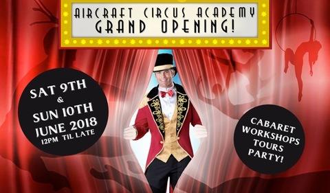 Grand Opening AirCraft Circus Academy new space  - Circus Events - CircusTalk