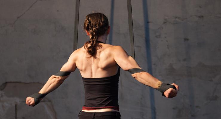 Aerial Straps Workshop Zurich - Circus Events - CircusTalk