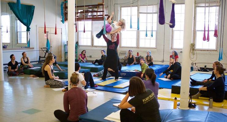 Nimble Arts: Introduction to Teaching Aerials - Circus Events - CircusTalk