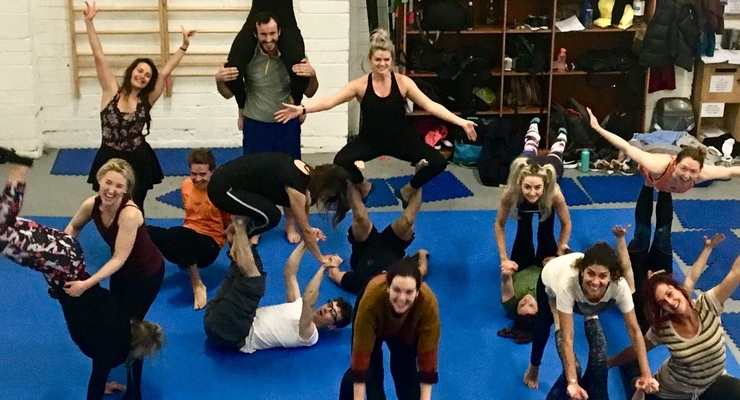 Open Level Acroyoga - Circus Events - CircusTalk