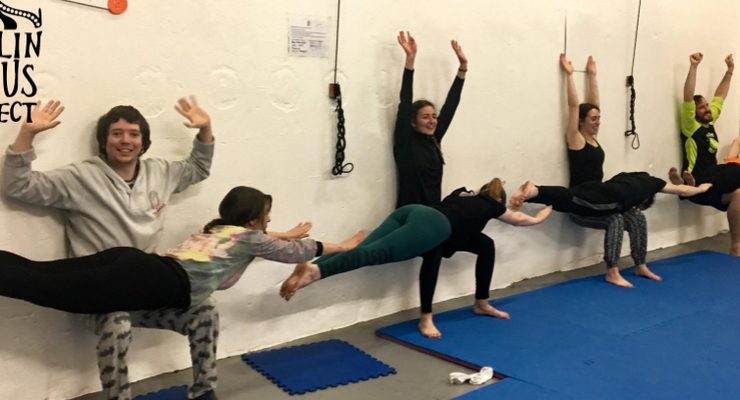 Open Level Acroyoga at Dublin Circus Project - Circus Events - CircusTalk
