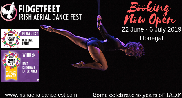 Irish Aerial Dance Festival - Circus Events - CircusTalk