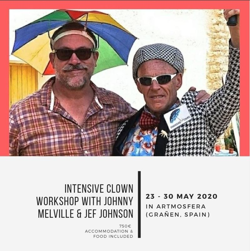 ARTMOSFERA - Jef & johnny workshop of the year - Circus Events - CircusTalk