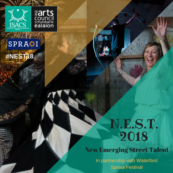 NEST18: New Emerging Street Talent at Spraoi Festival 2018. - Circus Events - CircusTalk