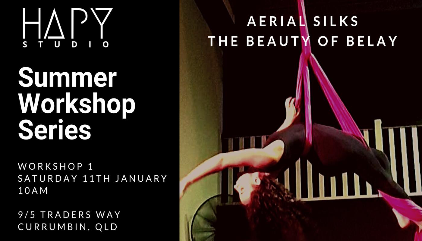 The Beauty of Belay - Aerial Silks - Summer Workshop Series - Circus Events - CircusTalk