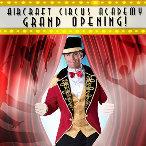AirCraft Circus Academy Grand Opening Weekend - Circus Events - CircusTalk