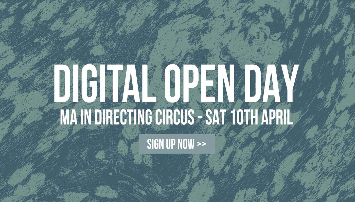 MA DIGITAL OPEN DAY - Circus Events - CircusTalk