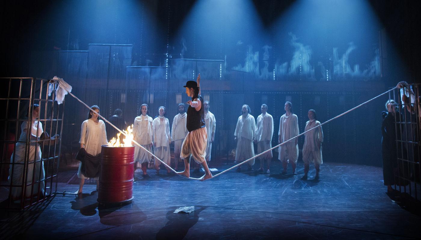 Philip Glass's Satyagraha by Cirkus Cirkör and Folkoperan