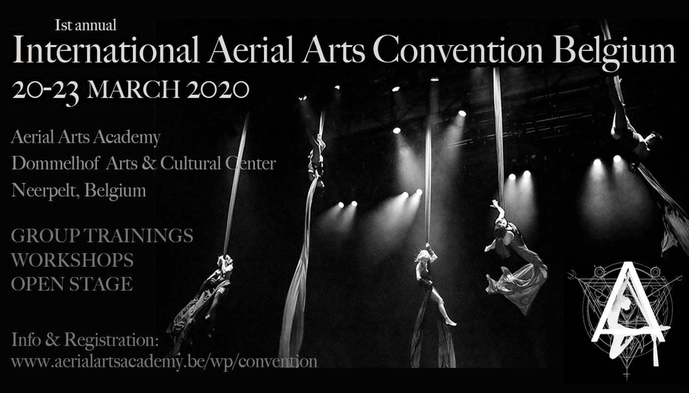 International Aerial Arts Convention | Belgium - Circus Events - CircusTalk