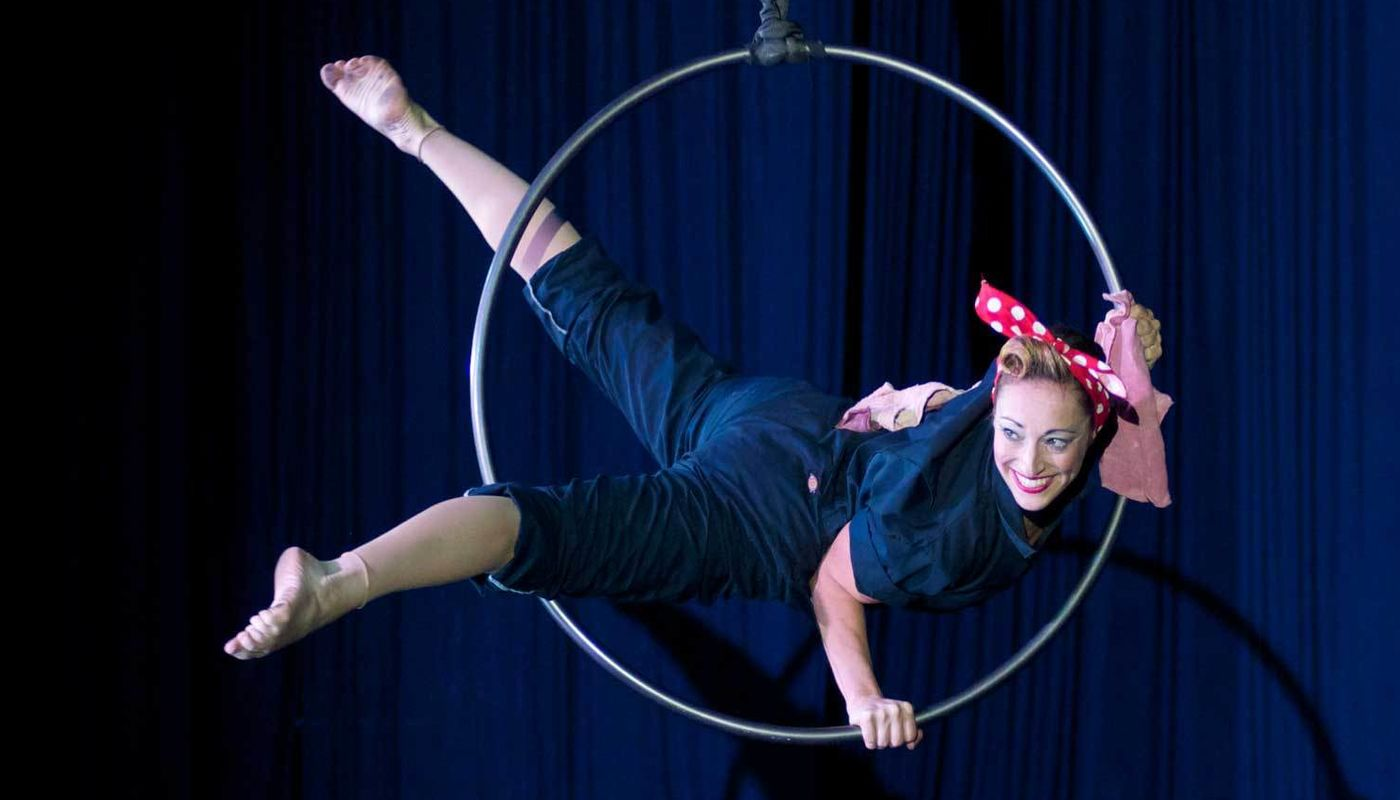 WEEKEND IMMERSION: LYRA WITH MEGAN MALLOUK - Circus Events - CircusTalk
