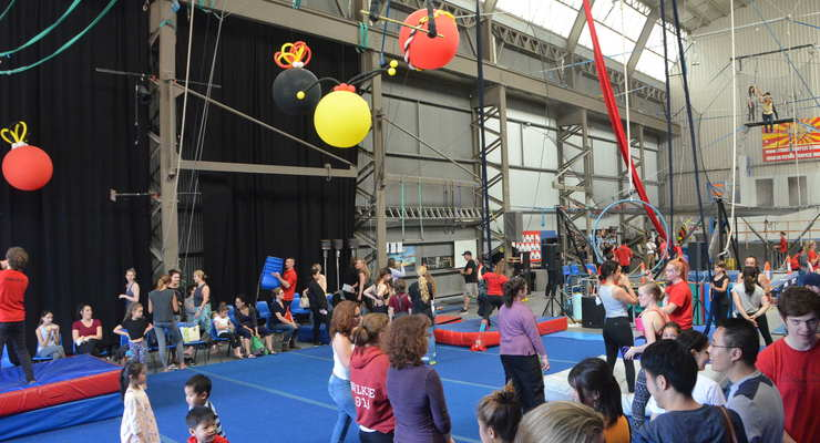 Sydney Trapeze School's FREE Open Day  - Circus Events - CircusTalk