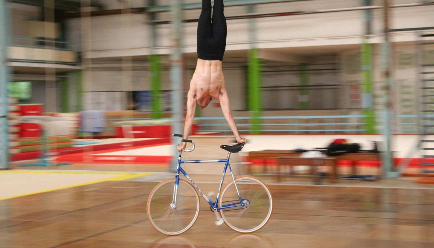 Artistic cycling Masterclass with Ivan Do-Duc - Circus Events - CircusTalk