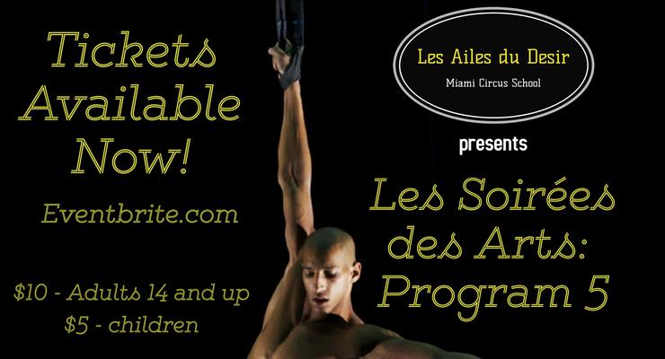 Les Soirees des Arts: Program 5  - Circus Events - CircusTalk