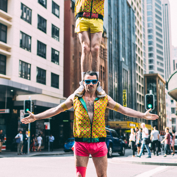 Lords of Strut at Beatyard Music festival - Circus Events - CircusTalk