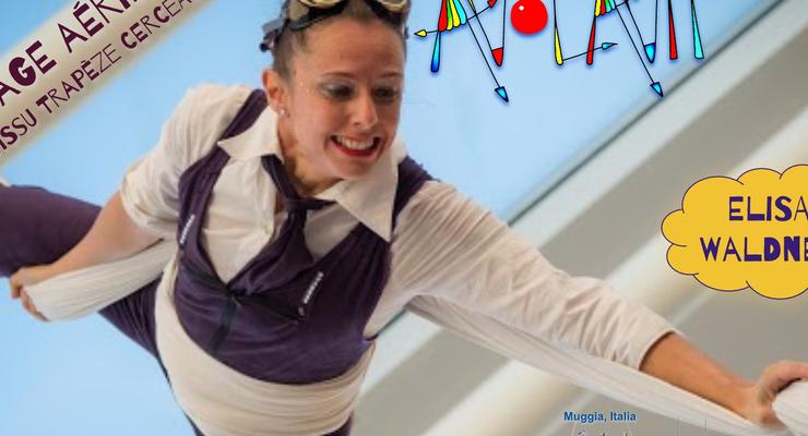 Aerial workshop Paris : Silks Trapeze Hoop - Circus Events - CircusTalk