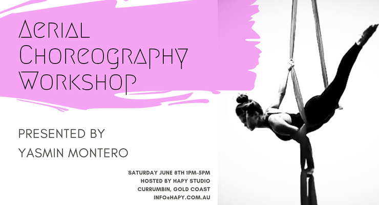 Aerial Silks Choreography with Yasmin Montero - Circus Events - CircusTalk