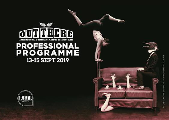 Out There Festival Professional Programme 2019 - Circus Events - CircusTalk