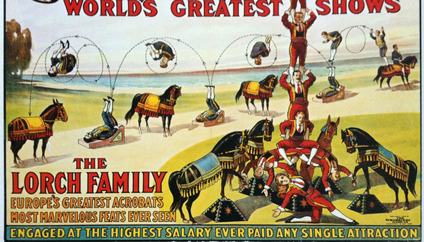 Circus Jews Under National Socialism: Online Talk - Circus Events - CircusTalk
