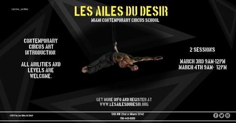 Introduction to Contemporary Circus Art - Circus Events - CircusTalk