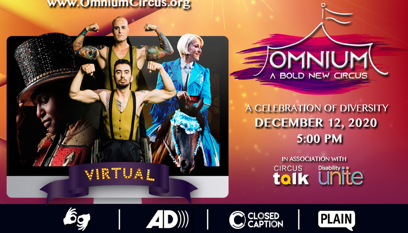 Omnium: A Bold New Circus - Virtual Celebration of Diversity - Circus Events - CircusTalk