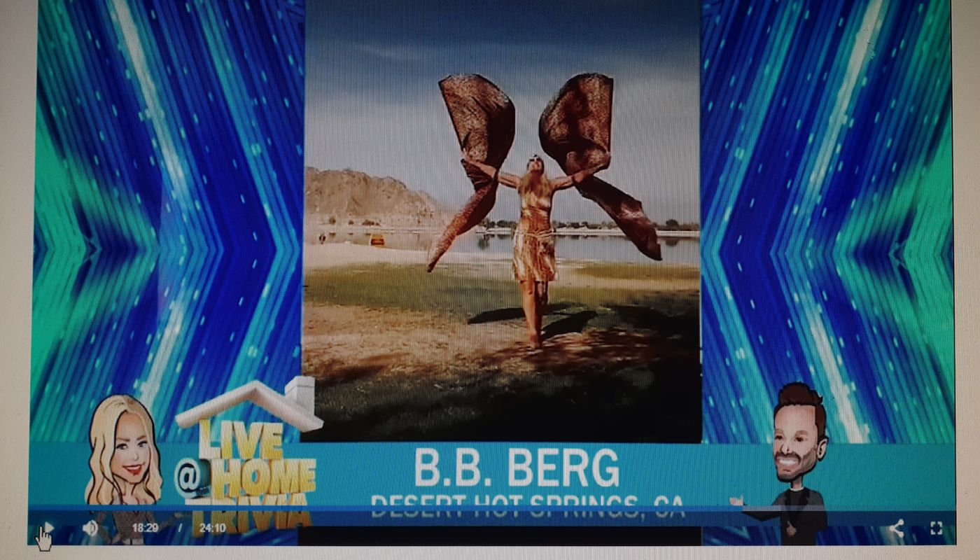 B.B. Berg on The Kelly and Ryan show. - Circus Events - CircusTalk