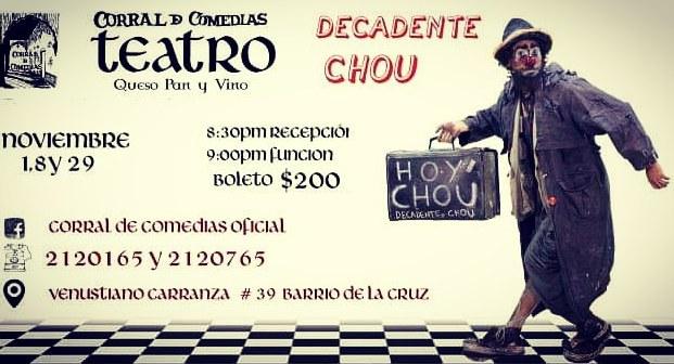 Decadente choU - Circus Events - CircusTalk