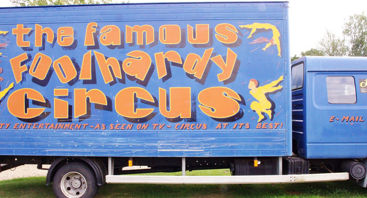 Circus Talk: Foolhardy Circus by Cosmo Hardy - Circus Events - CircusTalk