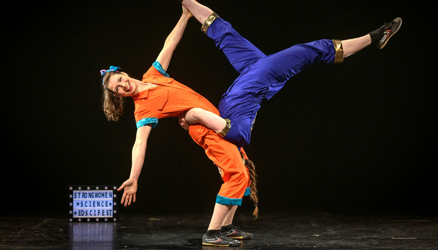 StrongWomen Science at NI Science Festival - Circus Events - CircusTalk