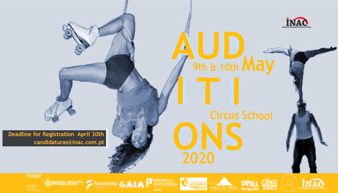 Auditions INAC 2020 - Circus Events - CircusTalk