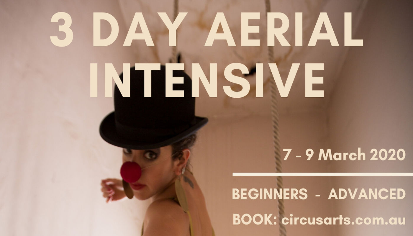 3-DAY AERIAL INTENSIVE - Circus Events - CircusTalk