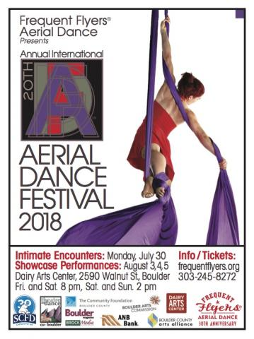 Frequent Flyers' international Aerial Dance Festival 2018 - Circus Events - CircusTalk