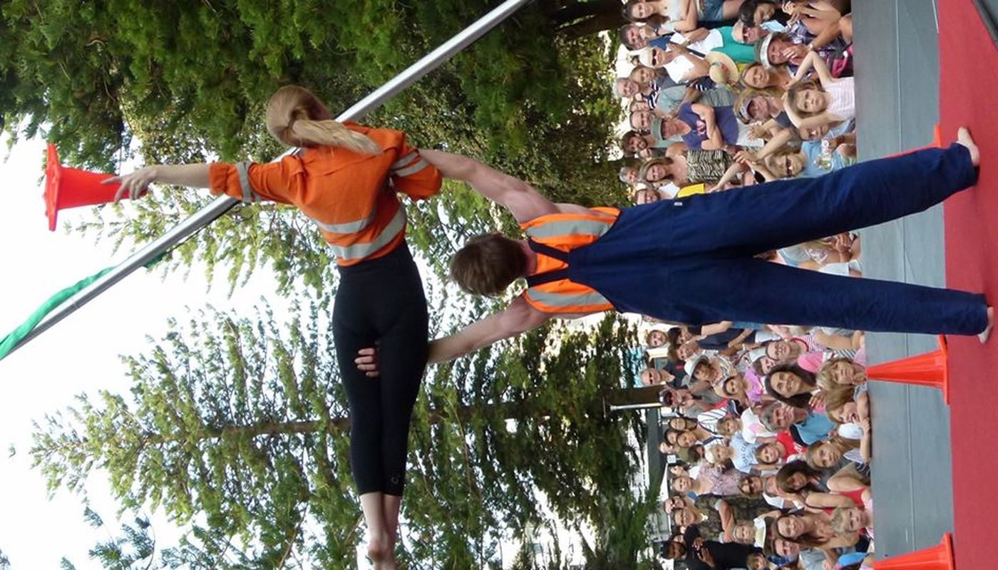Seriously! Circus – Acro Balance, Stilts/Unicycle & Juggling - Circus Events - CircusTalk