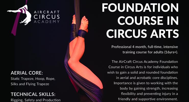 Foundation Course in Circus Arts - Circus Events - CircusTalk