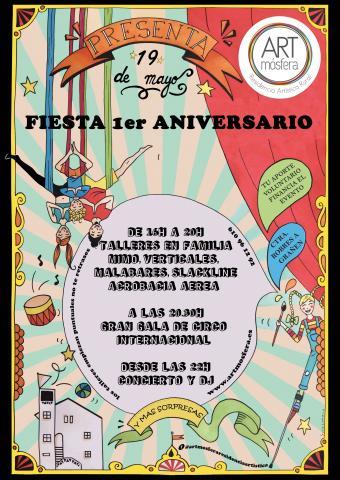1er ANIVERSARIO ARTMOSFERA - RESIDENCIA ARTISTICA RURAL - Circus Events - CircusTalk