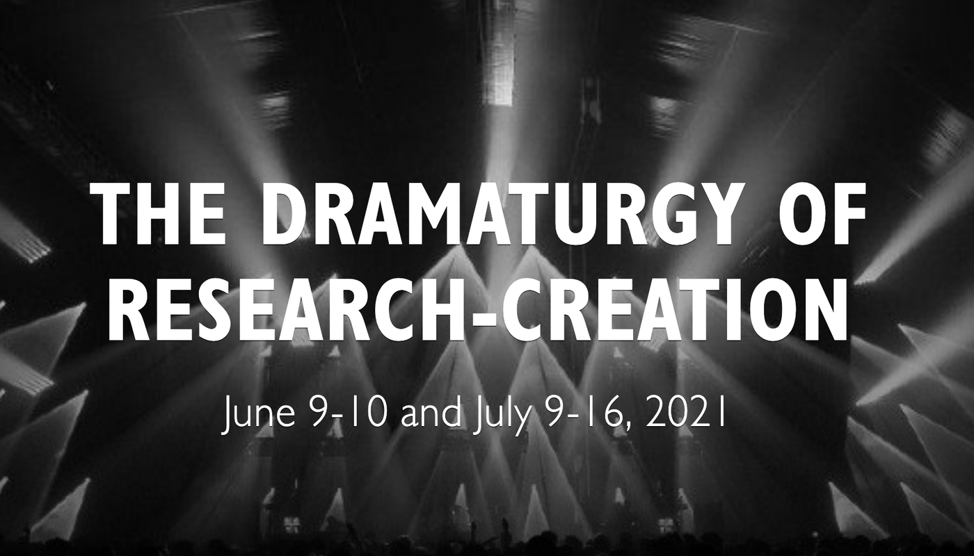 The Dramaturgy of Research-Creation (Remote) - Circus Events - CircusTalk