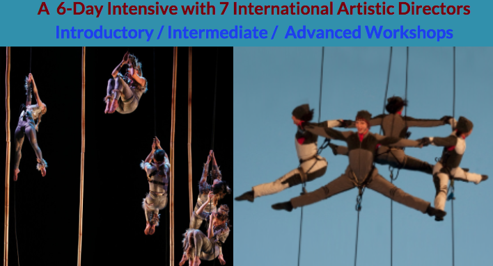 Vancouver International Vertical Dance Summit - Circus Events - CircusTalk