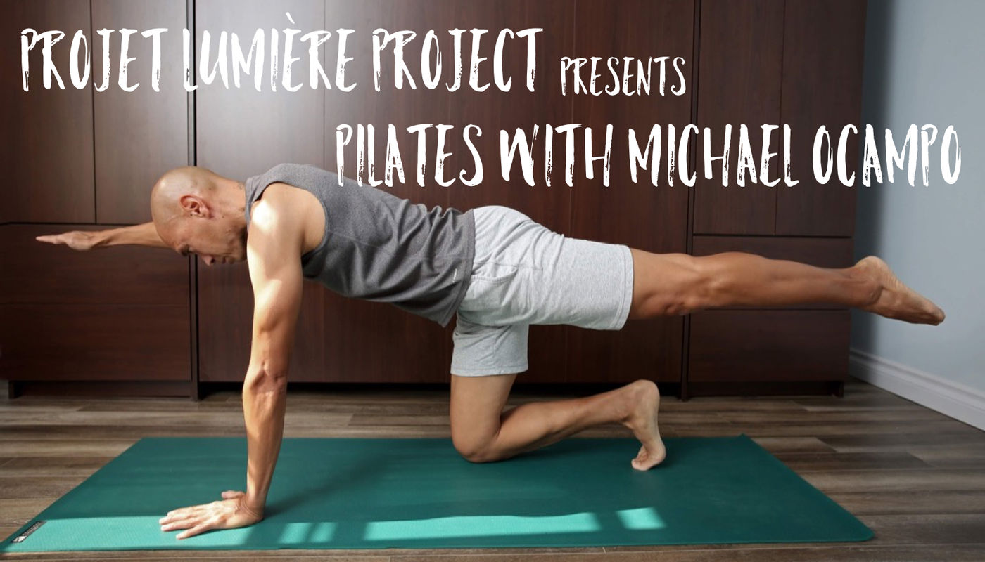 FREE Online Pilates with Michael Ocampo - Circus Events - CircusTalk
