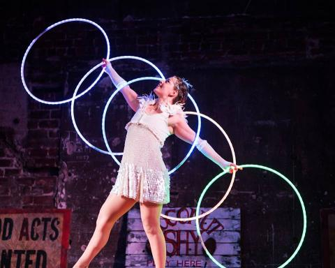 Delighters Circus Pop Up Take Over - Dakini Project - Circus Events - CircusTalk