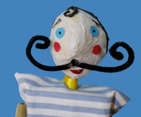 Children's Puppet Making Workshop: Acrobats - Circus Events - CircusTalk