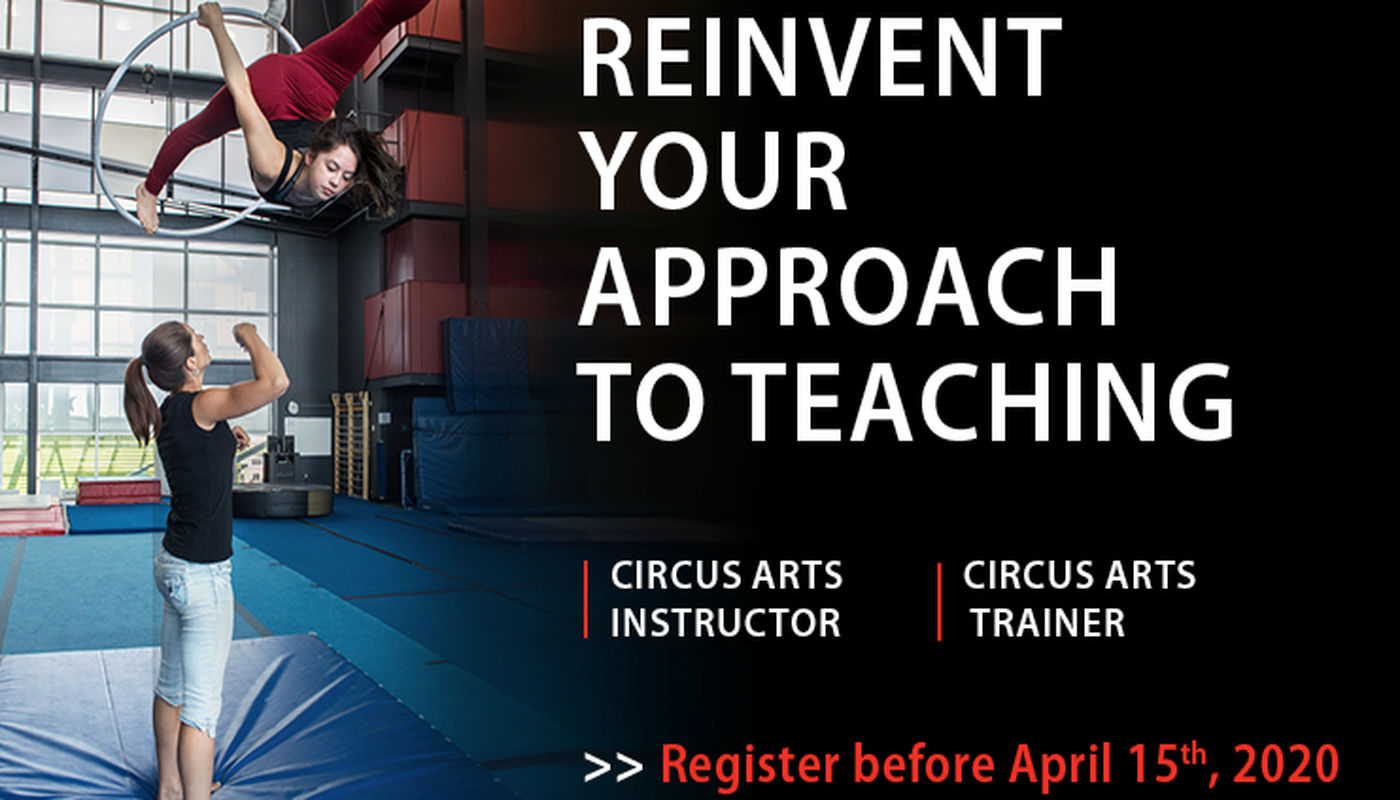 Circus Arts Instructor and Trainer Application Deadline