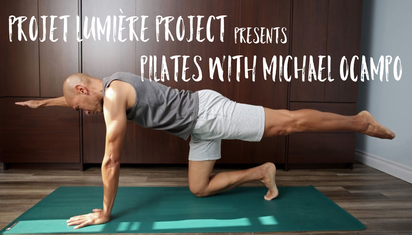 FREE Online Pilates with Michael Ocampo
