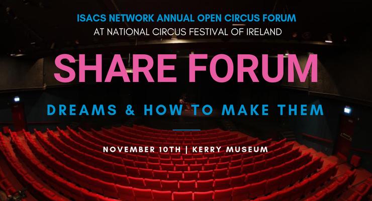 SHARE - CIRCUS OPEN FORUM - Circus Events - CircusTalk