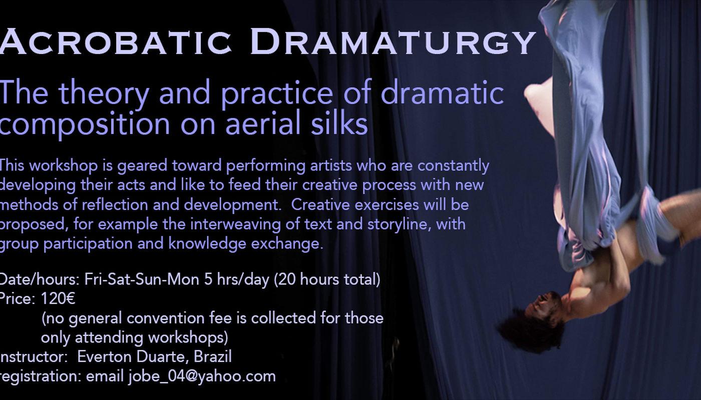 Workshops- Convention 2020 - Circus Events - CircusTalk
